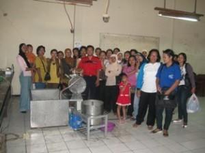 Pelatihan Usaha Pembuatan Keripik Buah Jawa Timur