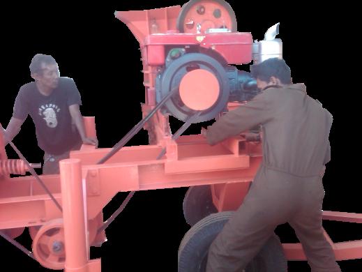 mesin penghancur batu Graha Mesin