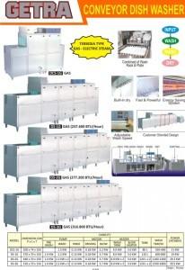 Conveyor Dish Washer