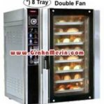 Mesin Roti | Oven Roti dan Kue | Convection Oven Gas 8 Tray