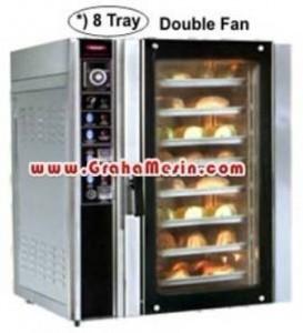 Mesin Roti | Oven Roti dan Kue | Convection Oven Gas 8 Tray