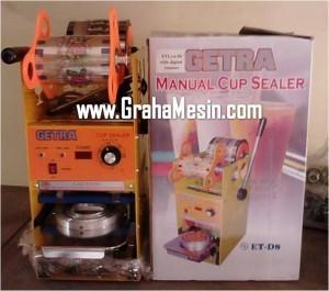 Cup Sealer Manual Mesin Sealer Gelas Minuman Plastik