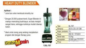 Blender Smoothie Jus Restaurant | Blender Jus Buah Hasil Halus