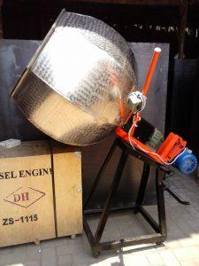 Mesin Seasoning Mixer   Alat Pengaduk Bumbu Kue