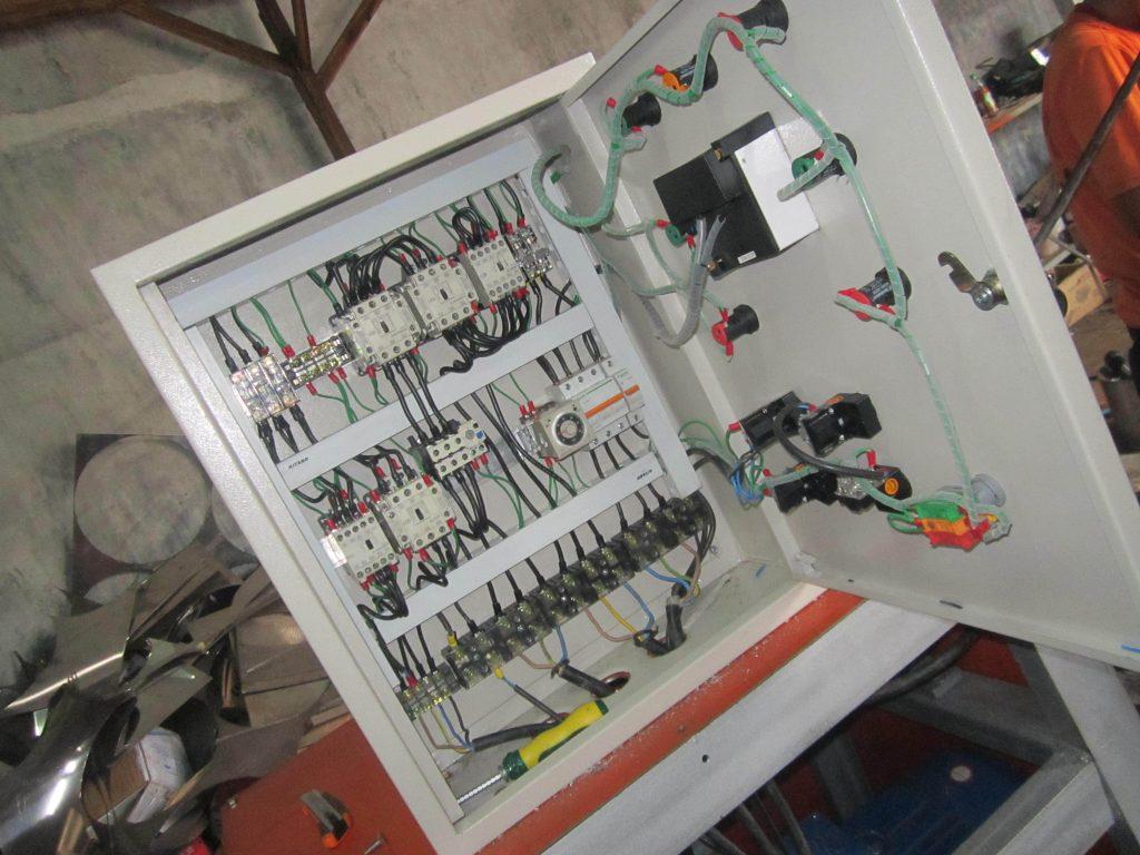 Ribbon mixer otomatis (9