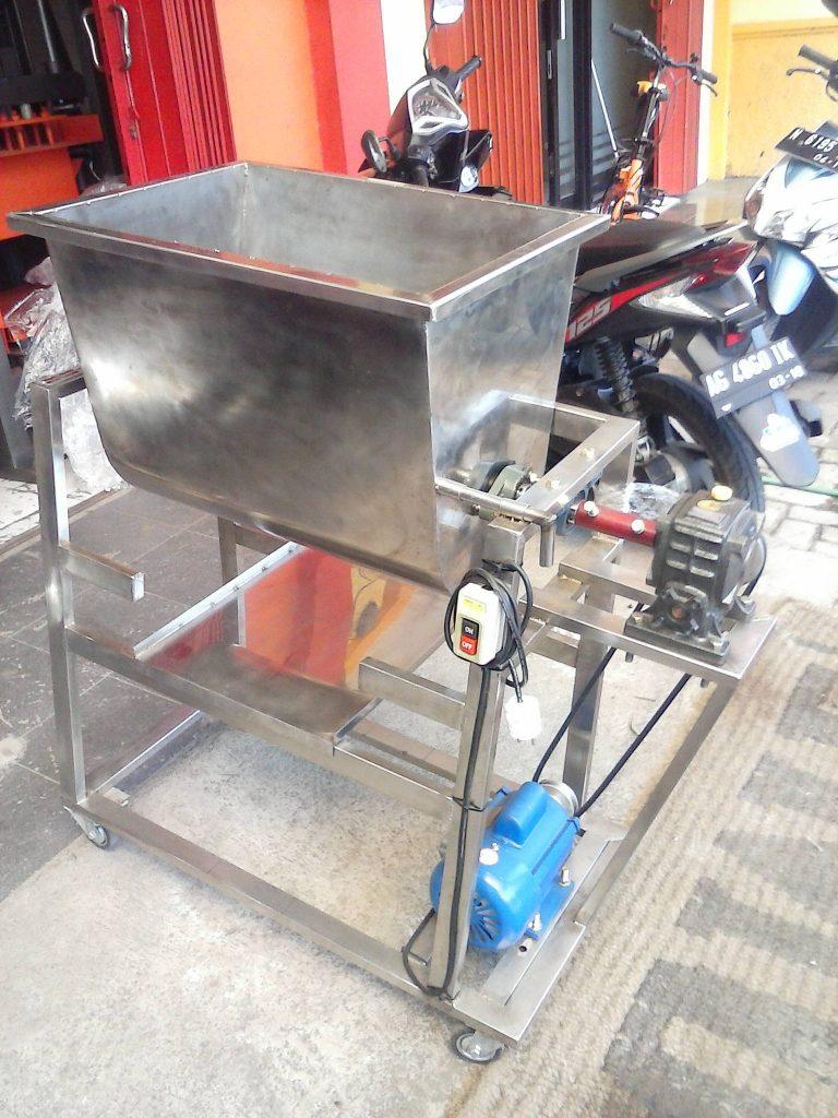 mesin mixer daging abon sapi