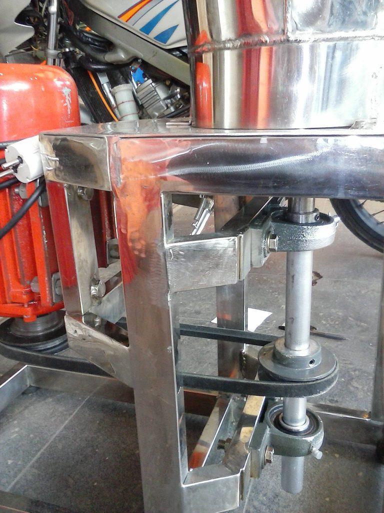 Mesin Blender Bumbu Dapur Skala Industri