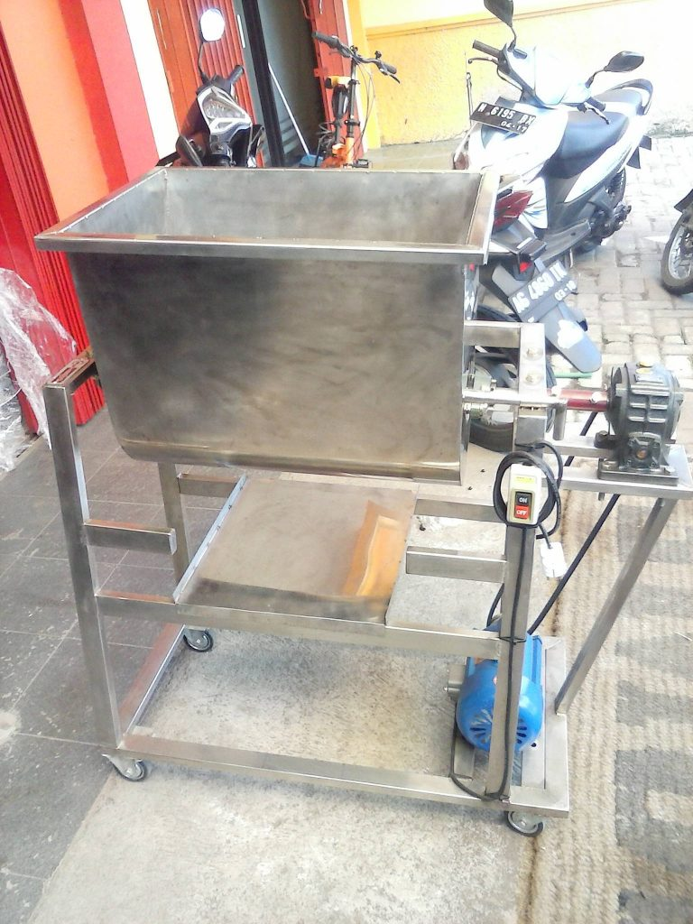 mesin mixer daging abon