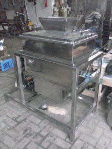 Mesin Mixer Ribbon Tepung (Bahan Kering)