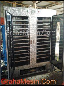 mesin oven pengering kapasitas 24 rak