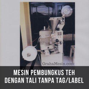 Mesin Pembungkus teh dengan tali tanpa Tag