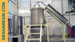 mesin destilasi minyak 1