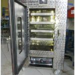 Mesin Oven Pengering 4 Rak Steinless Steel