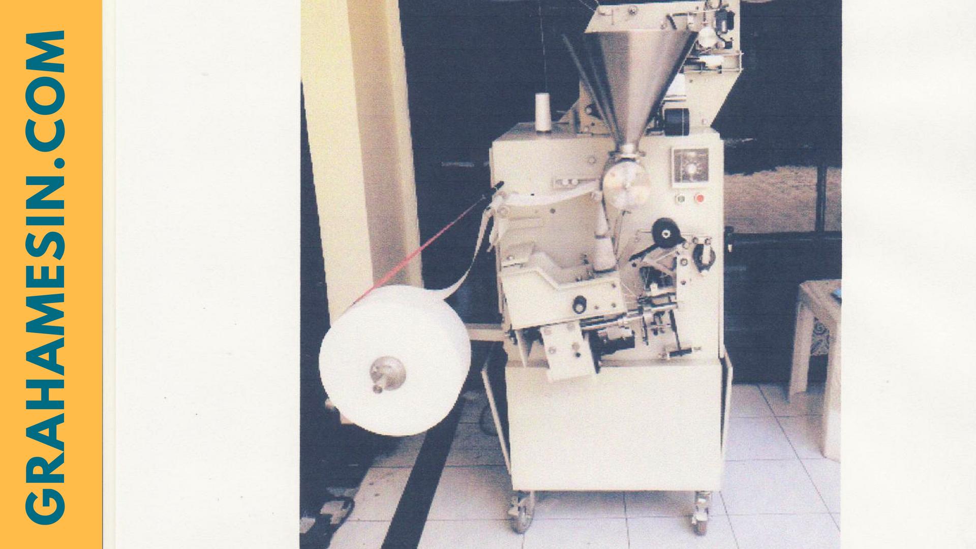 mesin pengemas kantong teh