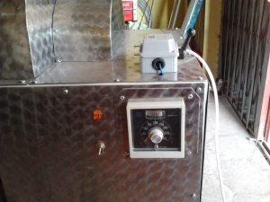 mesin sangrai biji kakao coklat