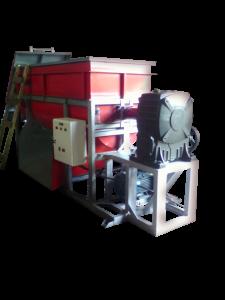 Mesin Ribbon Mixer Bahan Cocopeat