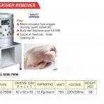 Poultry Feather Remover